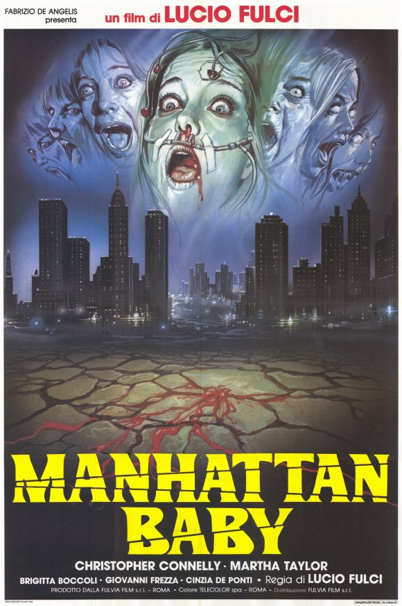 Poster do filme O Bebê de Manhattan