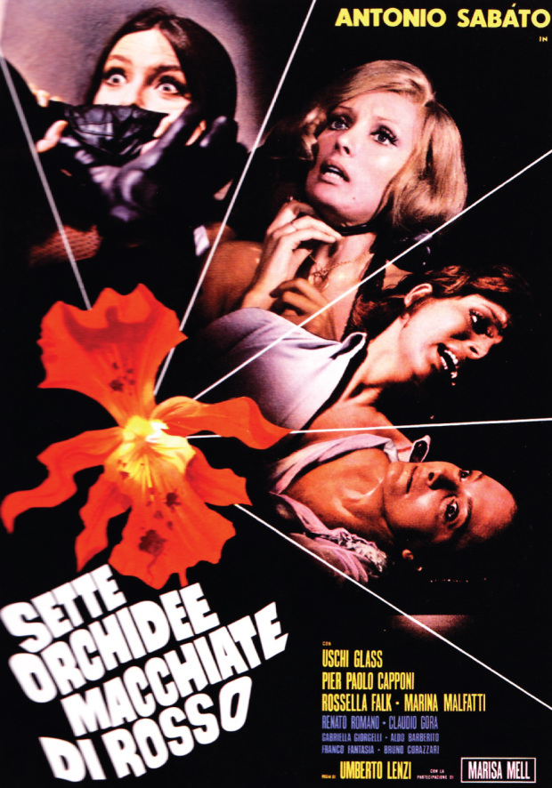 Poster do filme Sangue e Orquídeas