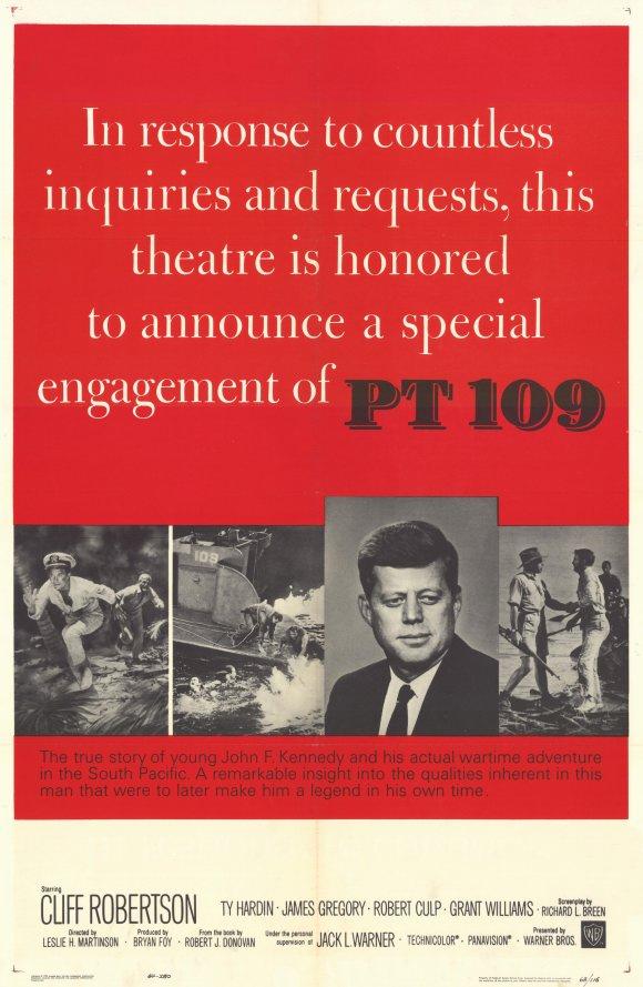 Poster do filme JFK - O Herói do 109
