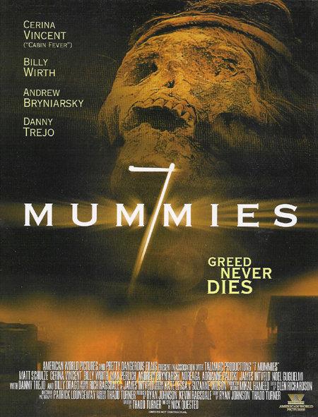 Poster do filme 7 Múmias