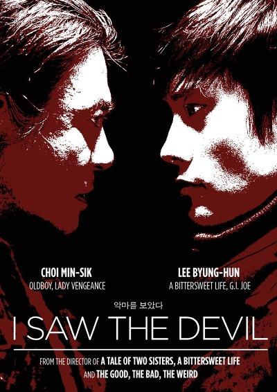 Poster do filme Eu Vi o Diabo