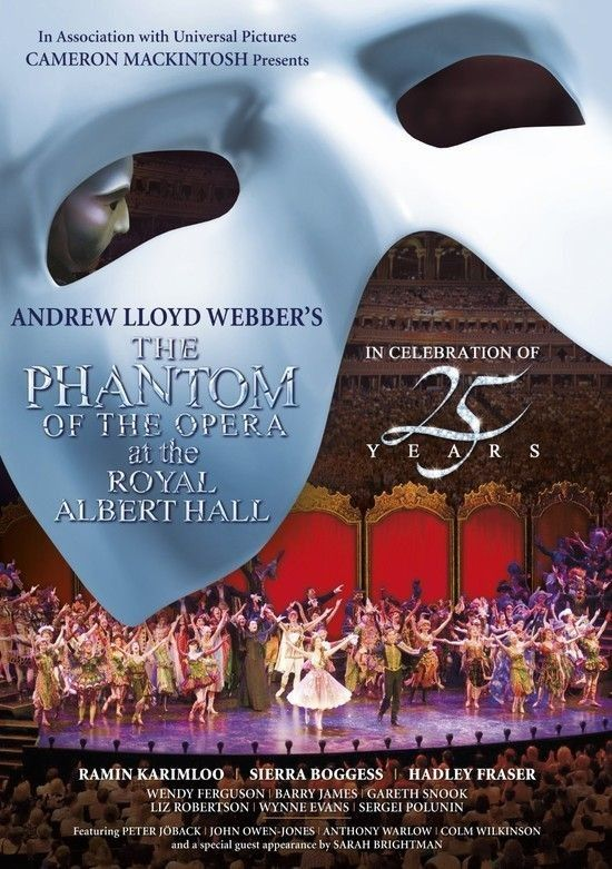 Poster do filme O Fantasma da Ópera No Royal Albert Hall