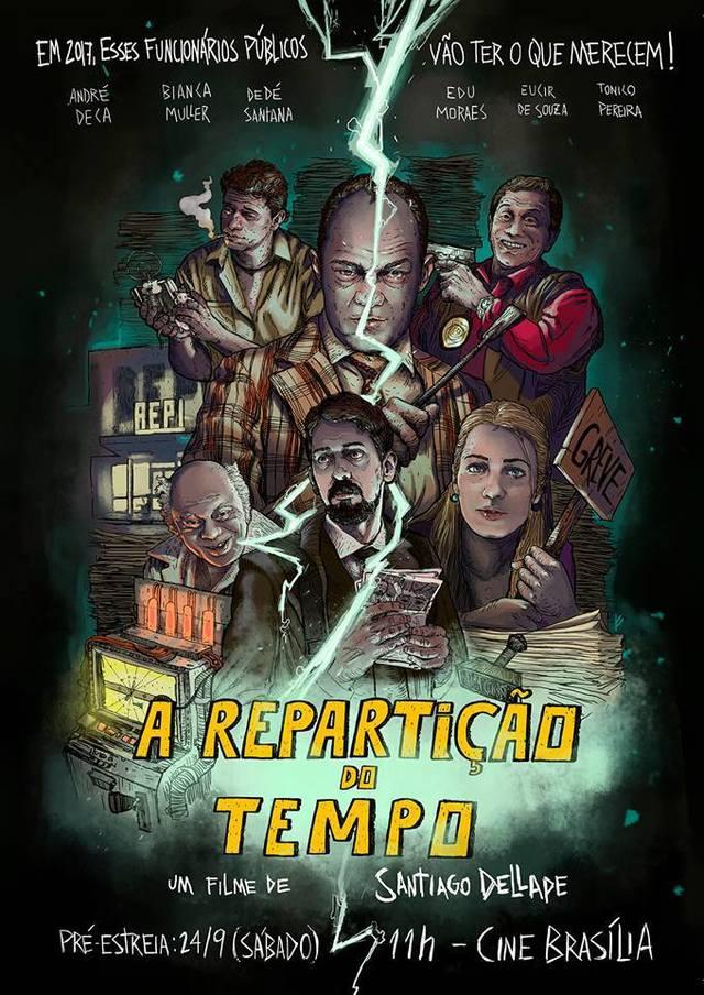 Poster do filme A Repartição do Tempo