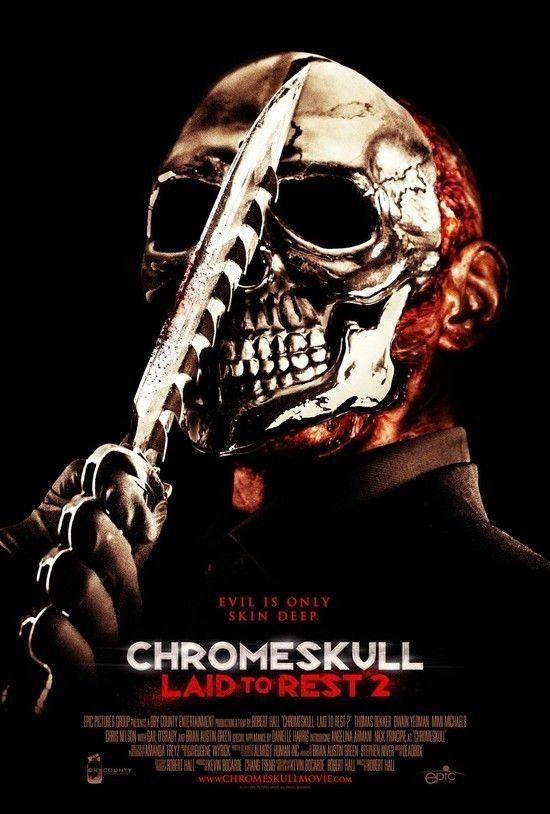 Poster do filme Chromeskull 2: Não Descanse em Paz
