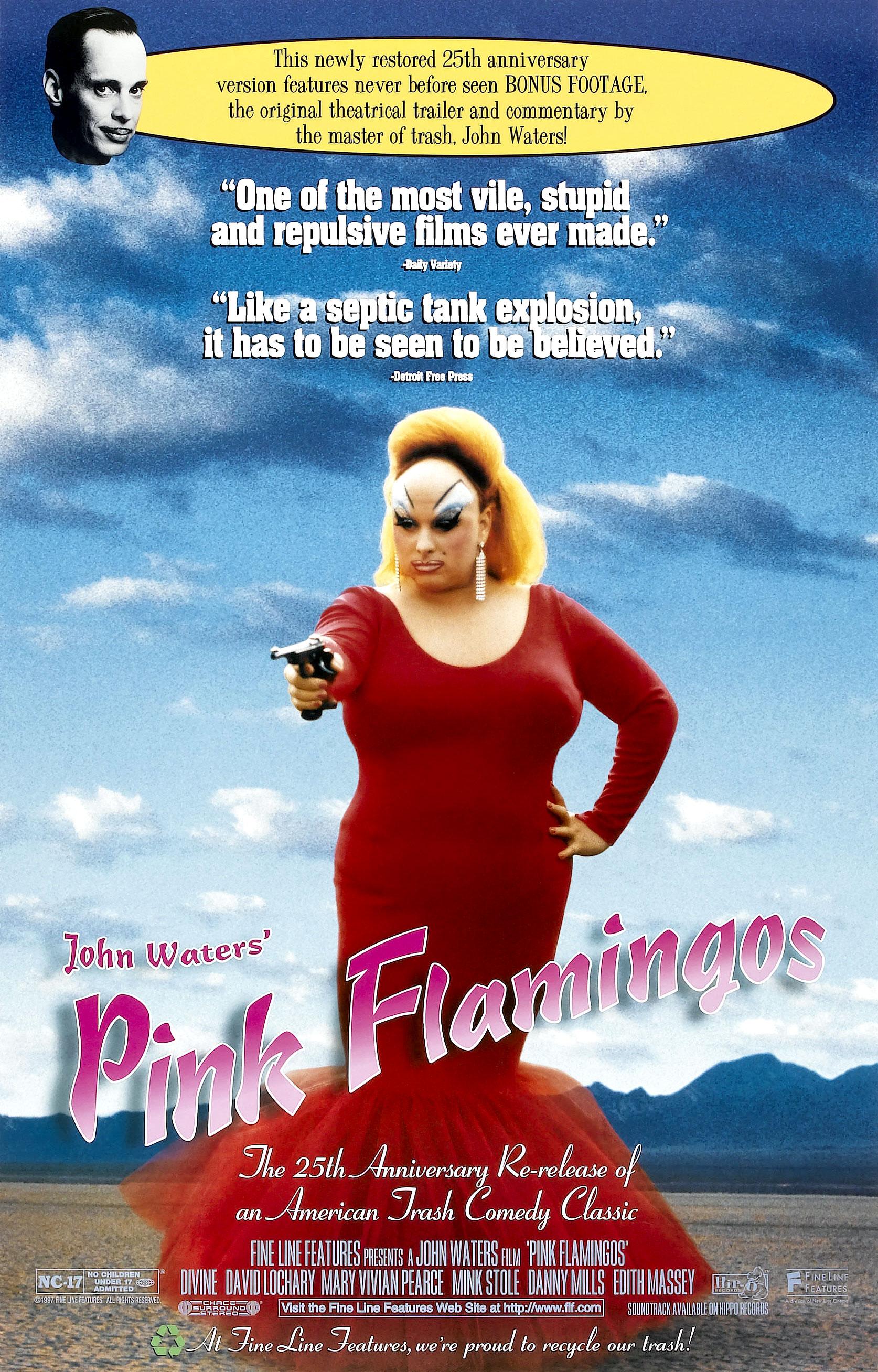 Poster do filme Pink Flamingos