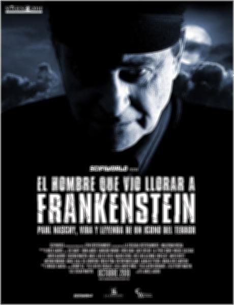 Poster do filme O Homem que Viu Frankenstein Chorar