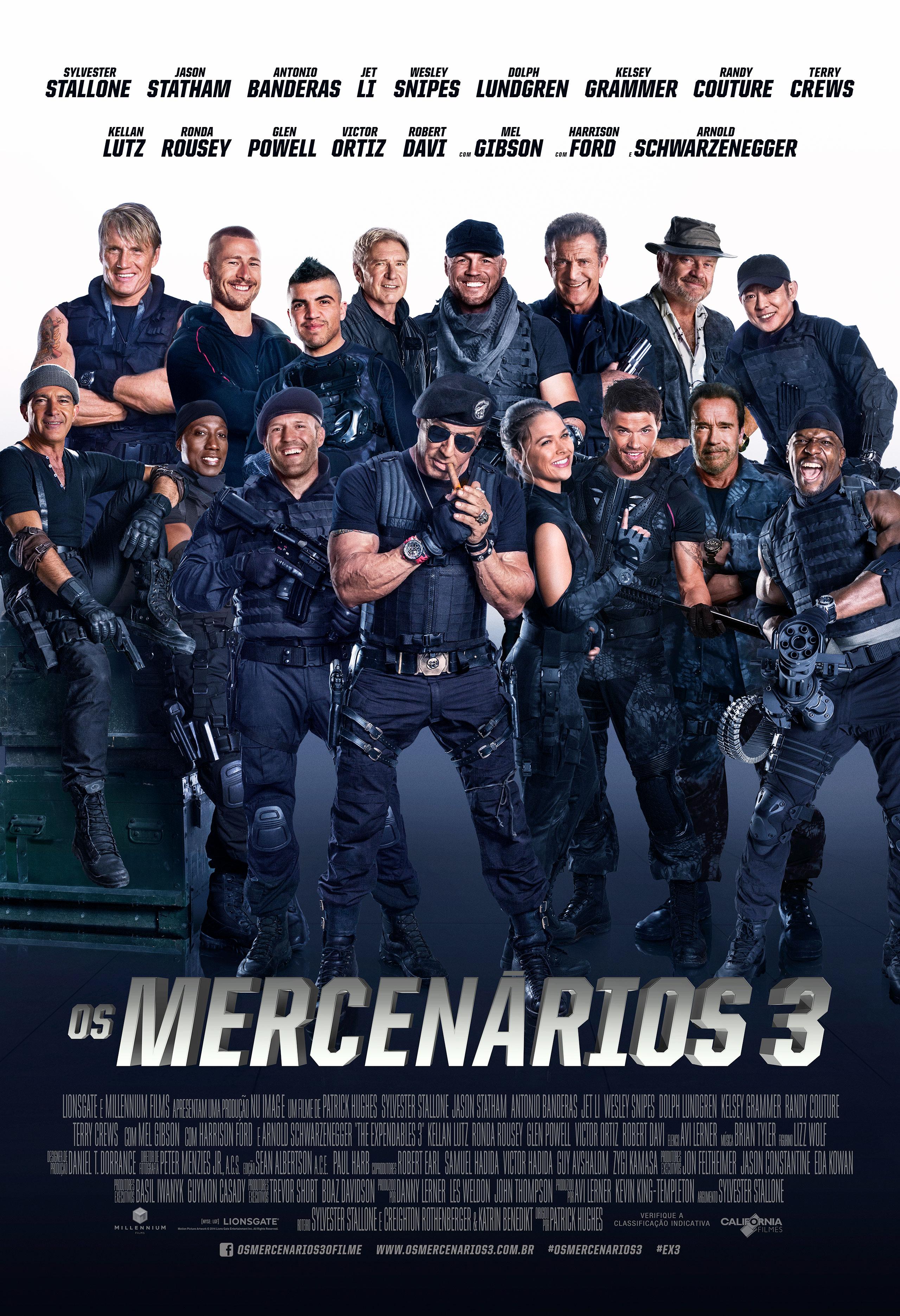 Poster do filme Os Seis Mercenários