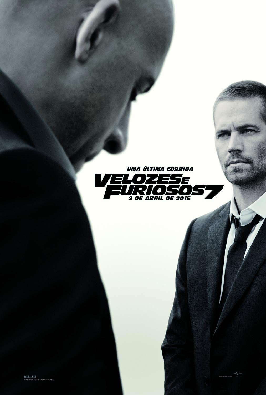 Poster do filme Velozes e Furiosos 7