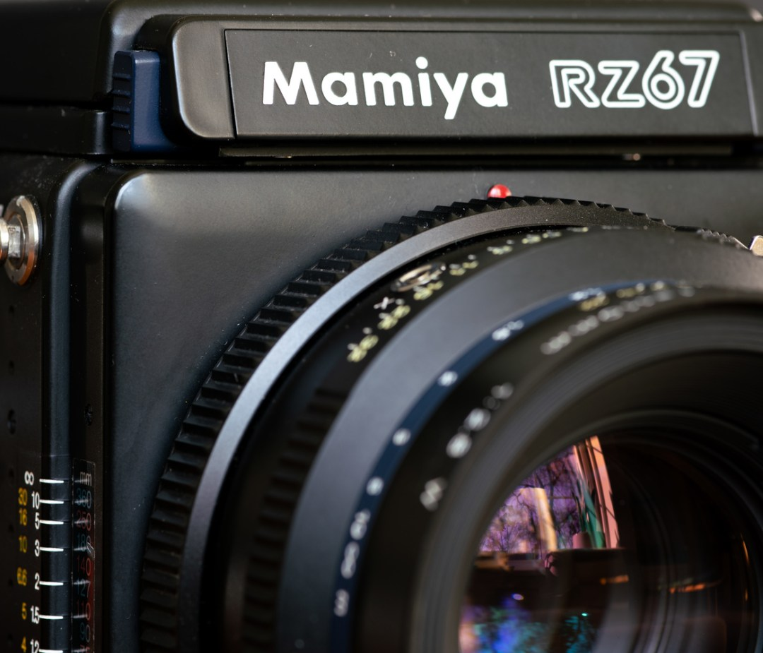 mamiya rz67 close up 1