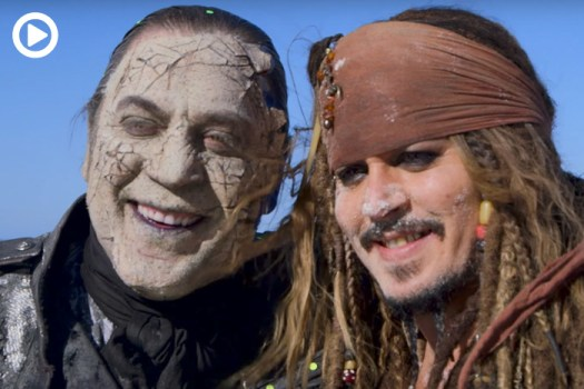 Go Behind the Scenes of Pirates of the Caribbean: Dead Men Tell No Tales
