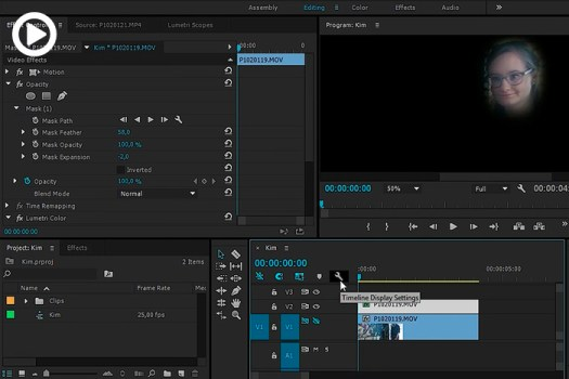 How to Color Correct a Moving Area in Premiere Pro
