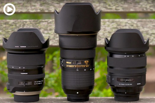 Nikon 24-70mm 2.8 VR vs Sigma Art vs Tamron G2