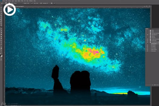 Distinguish Luminosity Levels in Photoshop Better Than Ever With This Visual Help Layer