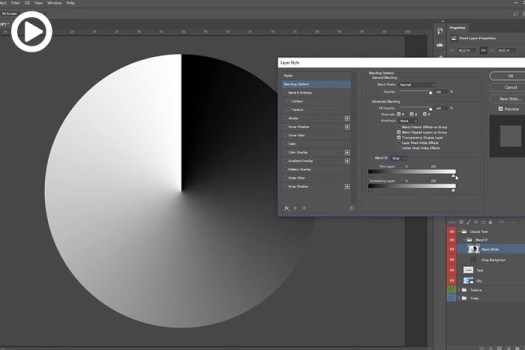 How to Use the 'Blend If' Feature Effectively in Photoshop