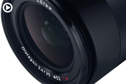 Zeiss Loxia 2.4/25 Lens for Sony Mirrorless Cameras Is Announced