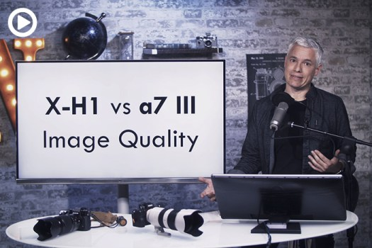 How Does the Sony a7 III Compare to the Fuji X-H1?