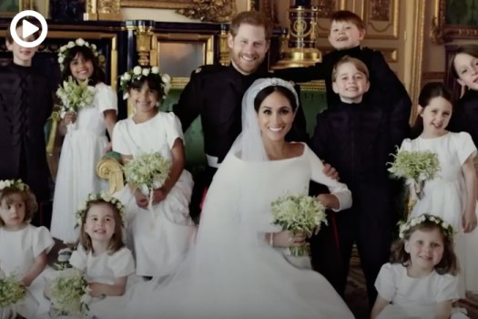 The Royal Wedding: The First Official Images
