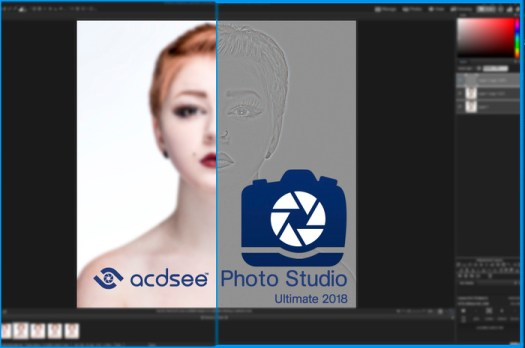 Frequency Separation Made Easy With ACDSee Photo Studio Ultimate 2018