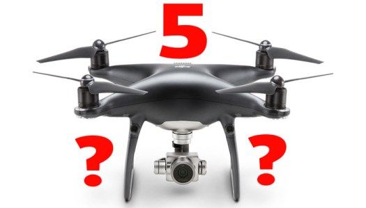 Are the Leaked Images of a DJI Phantom 5 With an Interchangeable Lens Camera Credible?