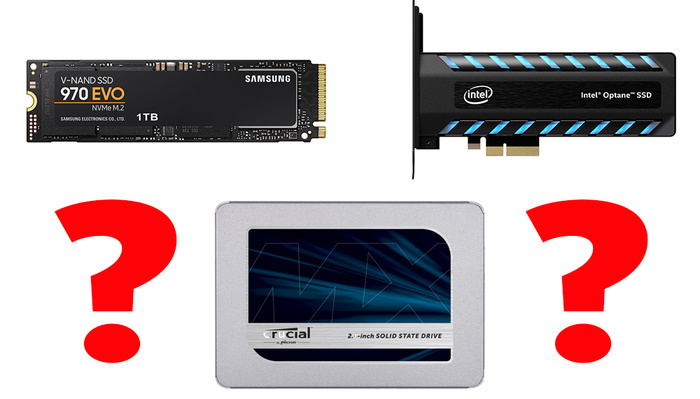 Make the Right Choice: Everything You Need to Know About SSD, NVMe and Optane Drives