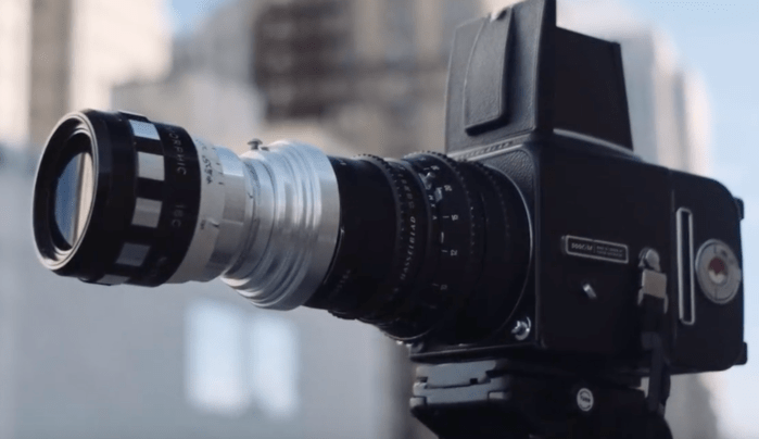 Photographer Modifies Film Hasselblad 500C/M Into a Medium Format Xpan