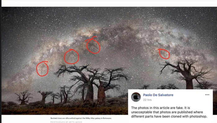 National Geographic Photo Accused of Being Photoshopped, Claims Milky Way Stars Were Cloned