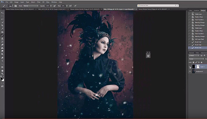 How to Add Realistic Smoke and Snow to Images