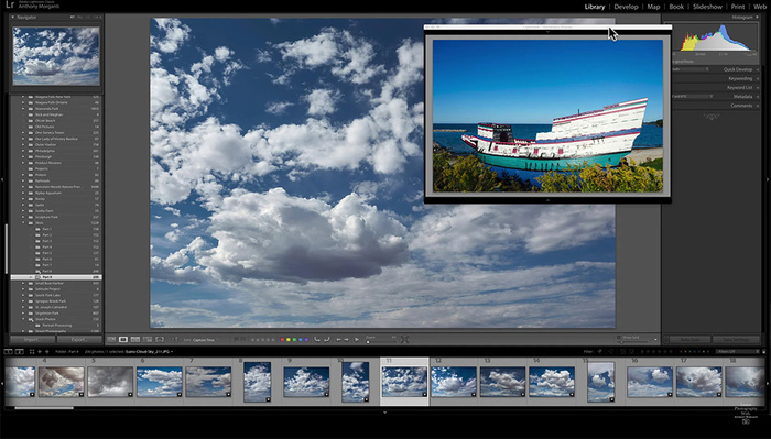 The Usefulness of Lightroom's Secondary Display