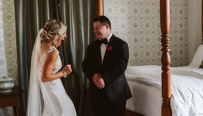 Bride Plans Exclusive First Look for Down Syndrome Brother
