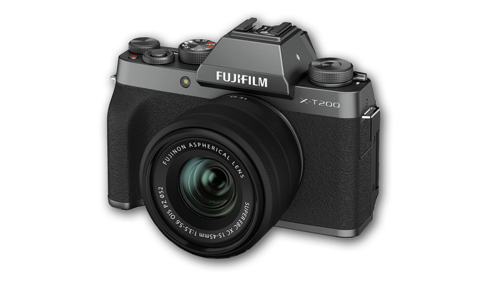 Fuji Announces the New X-T200: Sleek Rendering of a Familiar Form