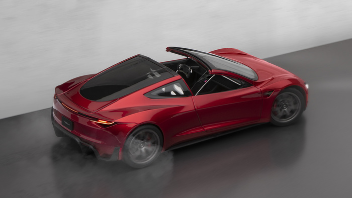 Photographing the New Tesla Roadster Diecast
