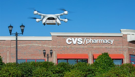 CVS and UPS Team up to Deliver Medications to Seniors via Drone During Pandemic