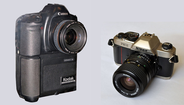 How 1995 Saw the Birth of the DSLR but Manufacturers Kept on Making Film Cameras