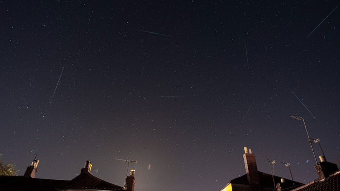 The Lyrid Meteor Shower Peaks Tonight