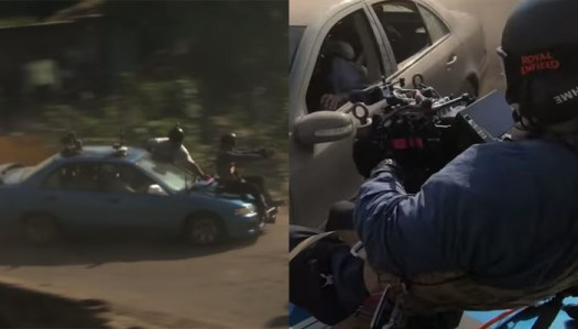Director of Netflix Hit 'Extraction' Strapped Himself to Hood of Car for Chase Scene