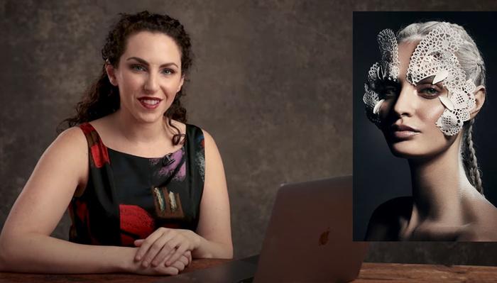 Deconstructing a DIY Avant Garde Beauty Portrait