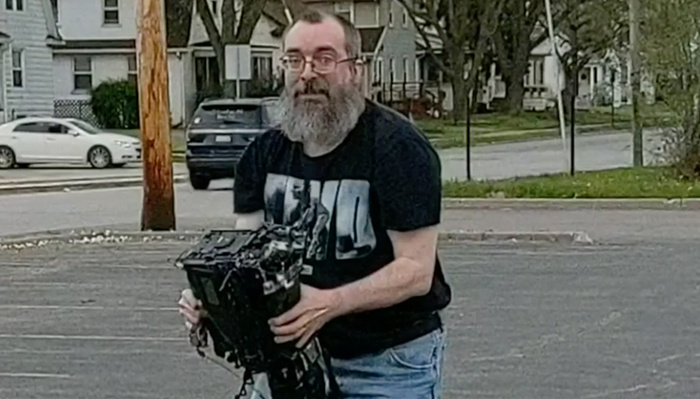 Man Charged After Video Shows Him Attacking News Photographer and Smashing Camera