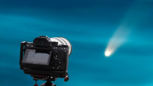 A Simple Way to Photograph Comet NEOWISE