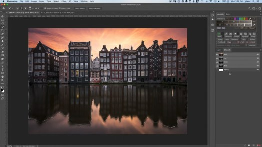 How to Selectively Expand the Background of Your Photo
