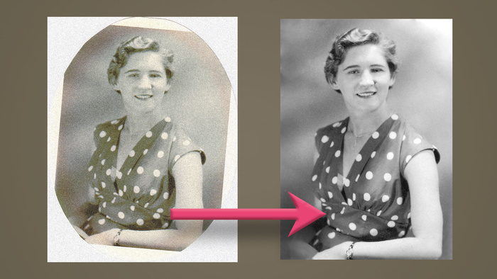 10 Photoshop CC Tips to Restore Your Old Family Photos