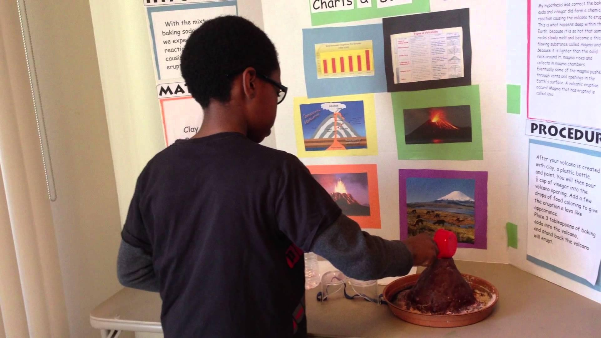 San Francisco Middle School Science Fair Project