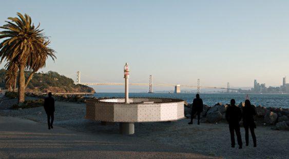 SF's Brand New Art Piece Made of 36 Tons of Bay Bridge Steel