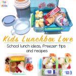 A Week Of School Lunch Ideas