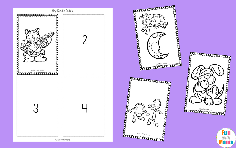 Free Nursery Rhymes Sequencing Activities