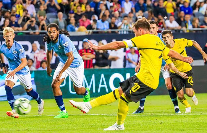 Borussia Dortmund derrotó al Manchester City por la ...