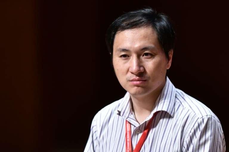 Le chercheur chinois, He Jiankui, à Hong Kong, le 28 novembre 2018. © Anthony WALLACE, AFP, Archives