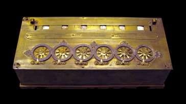 la pascaline, première calculatrice de l'Histoire