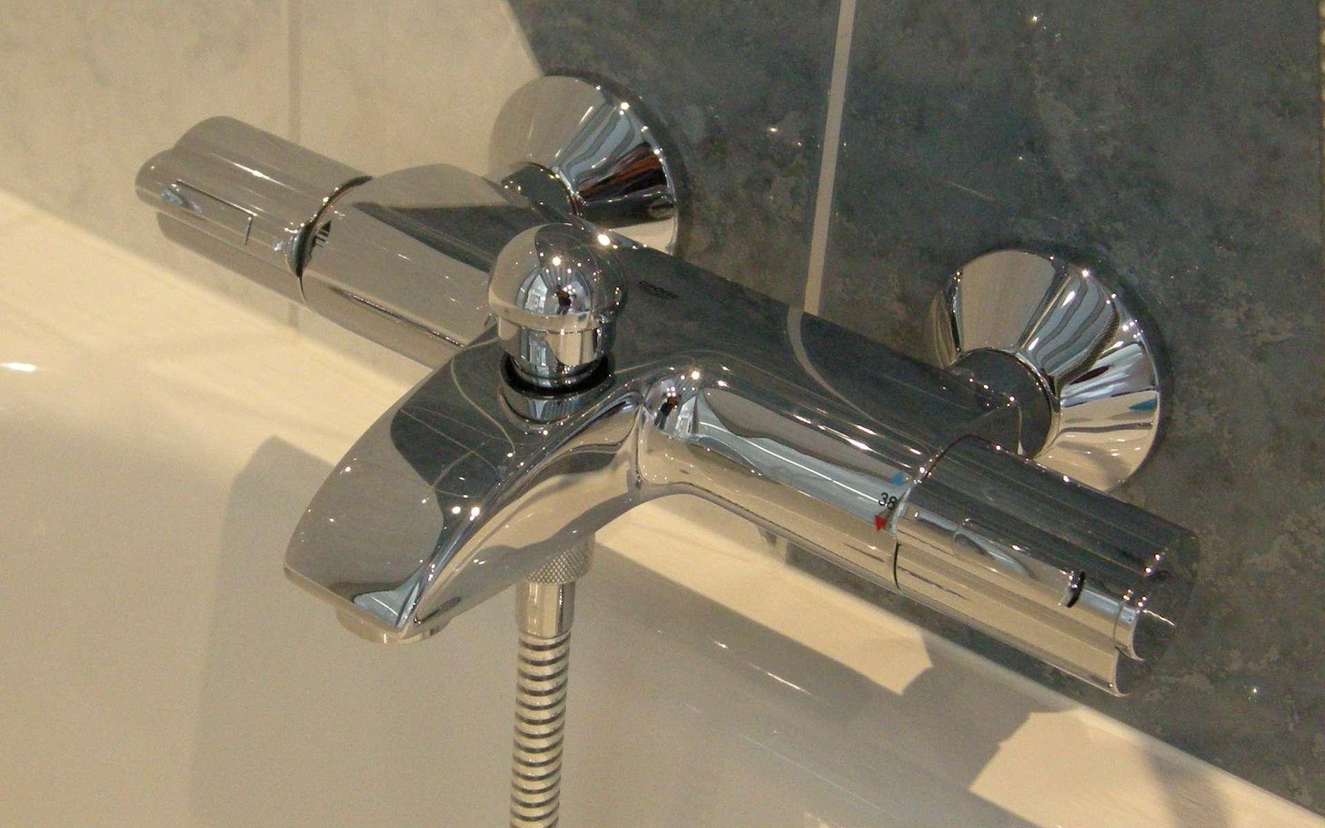 comment poser un robinet de baignoire