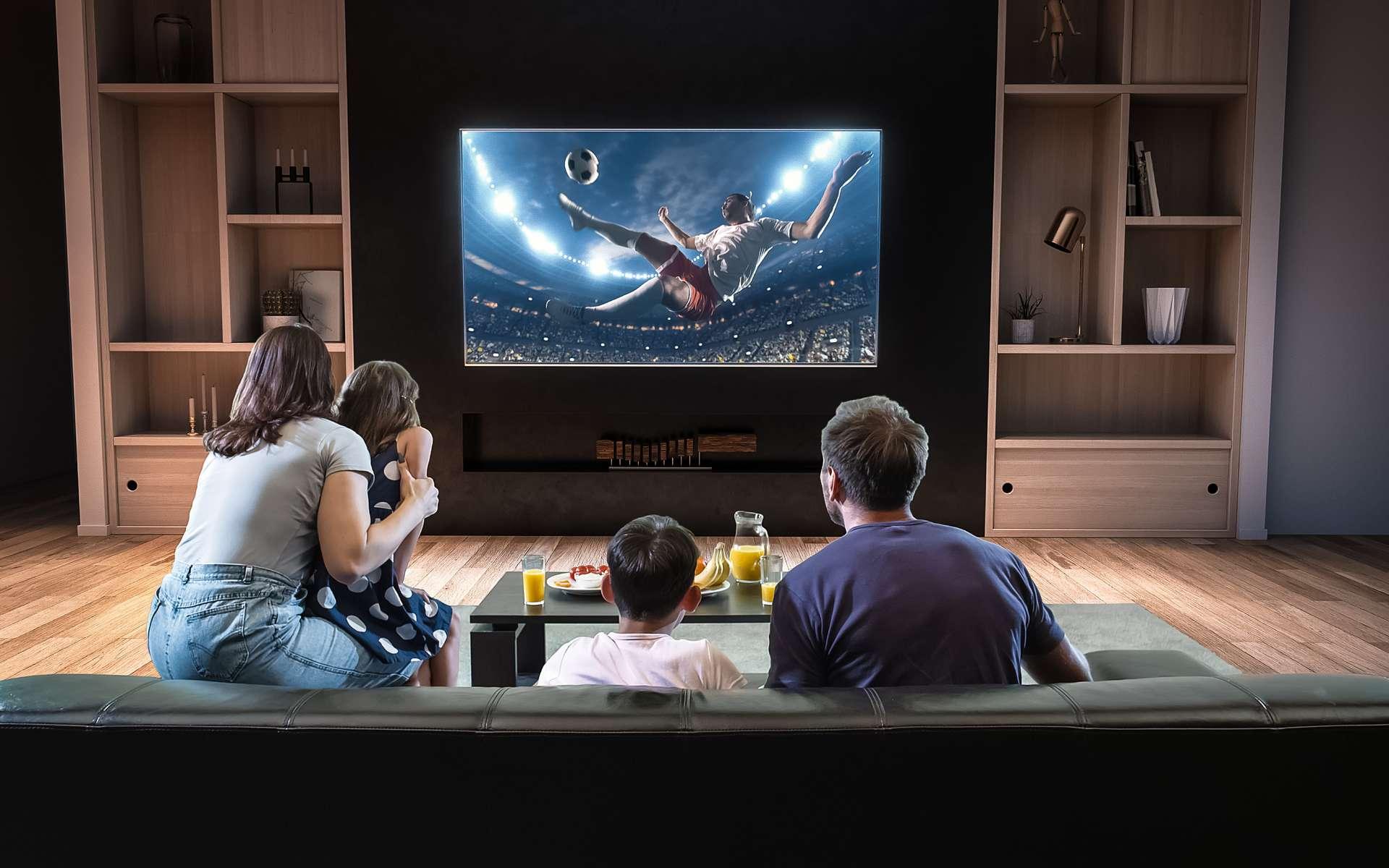 distance ideale pour une tv 50 pouces
