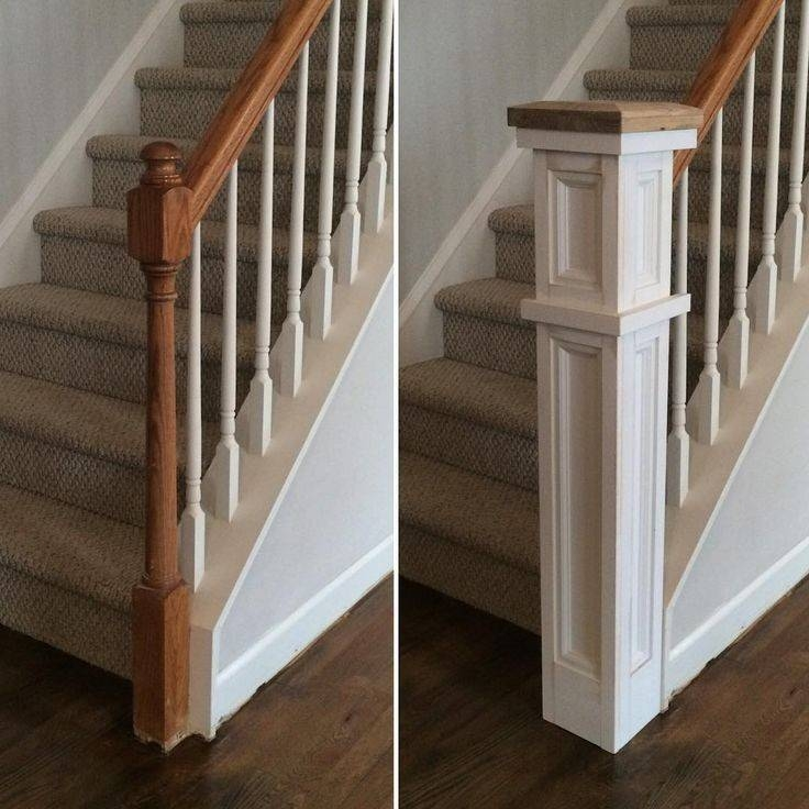 Best Railing Ideas Pinterest Loft Gabe Jenny Homes | Best Railing Design For Stairs | Balusters | Modern Stair | Cable Railing | Staircase Remodel | Glass Railing